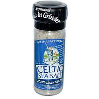 Celtic Sea Salt, Светло-серая кельтская соль 3 унции (85 г)