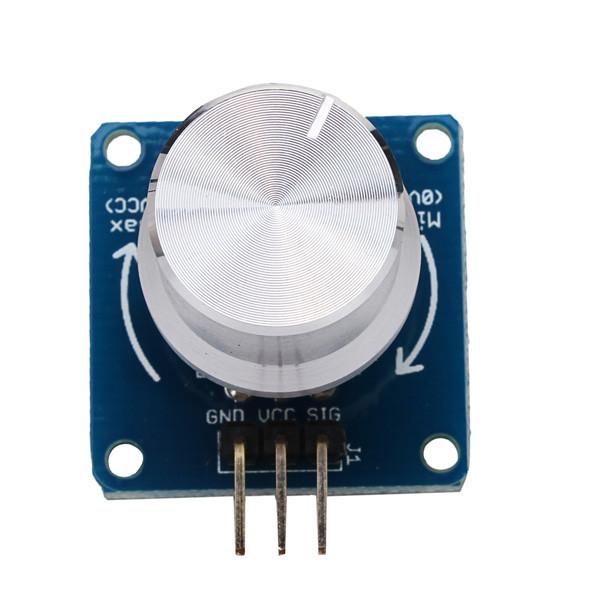 5PcsРегулируемыйрегуляторпотенциометрарегуляторагромкости Ротационный угол Датчик Модуль для Arduino - 1TopShop