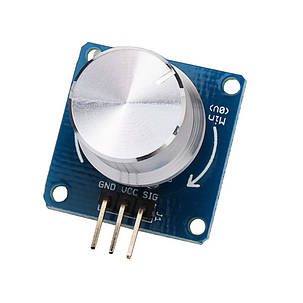 5PcsРегулируемыйрегуляторпотенциометрарегуляторагромкости Ротационный угол Датчик Модуль для Arduino - 1TopShop, фото 2