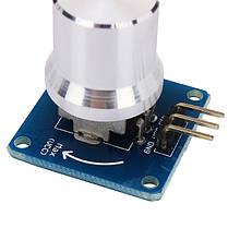 5PcsРегулируемыйрегуляторпотенциометрарегуляторагромкости Ротационный угол Датчик Модуль для Arduino - 1TopShop, фото 3
