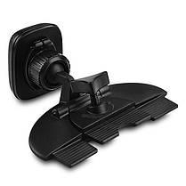 HOCO CA25 Магнитное вращение на 360 градусов Кожа PU Авто Подставка для держателя CD-слота для iPhone X 1TopShop, фото 3