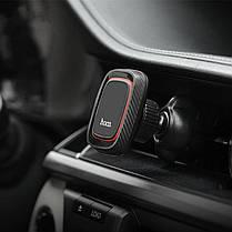 HOCO CA23 Магнитное вращение на 360 градусов Кожа PU Авто Подставка для держателя для воздуховодов для Xiaomi 1TopShop, фото 2