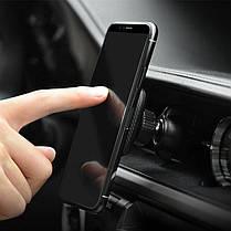 HOCO CA23 Магнитное вращение на 360 градусов Кожа PU Авто Подставка для держателя для воздуховодов для Xiaomi 1TopShop, фото 3