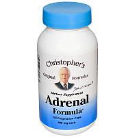 Здоровье надпочечников, Adrenal Formula, Christopher's Original, 100кап.