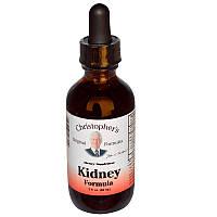 Здоровье почек, Kidney Formula, Christopher's Original Formulas, 59 мл.