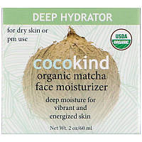 Cocokind, Органический увлажняющий крем для лица с маття, 2 унции (60 мл), фото 1