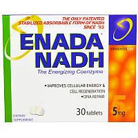 Никотинамидадениндинуклеотид, Enada NADH, Co - E1, 5 мг, 30 таблеток