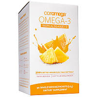 Омега-3 кислоты с витамином Д3 Джем Тропик-Апельсин, Coromega, 90 порций