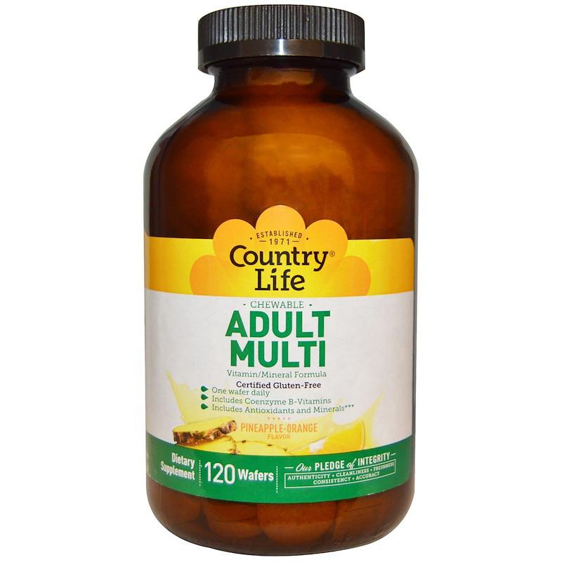 Комплекс витаминов и минералов, Country Life, 120 конф.