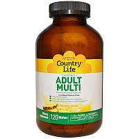 Комплекс витаминов и минералов, Country Life, 120 конф., фото 1