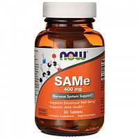 Препарат улучшающий метаболизм печеночных клеток NOW SAMe (400 мг) (30 таб)