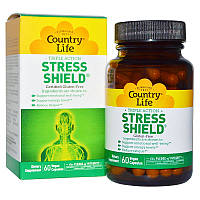 5-НТР стресс щит, Stress Shield, Country Life, 60 кап.