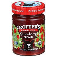 Crofter's Organic, Премиум-спред, клубника, органическая, 283 г