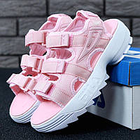 "Сандалии женские Fila Disruptor Sandals ""Pink/White"""