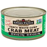 Crown Prince Natural, Симпатичное крабовое мясо белыми комками, 6 унций (170 г)