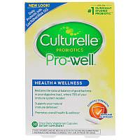 Пробиотики для здоровья пищеварительной и иммунной систем, Culturelle, 30 капсул