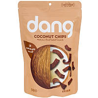 Dang Foods LLC, Кокосовые чипсы, шоколад и морская соль, 80 г (2,82 унц.)