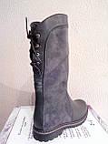 Женские ботинки серого цвета демисезонные, фото 3
