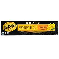 DeBoles, Натуральные макароны-спагетти,  8 унций (226 г)