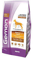 Корм Gemon Maxi Adult with Chicken and Rice