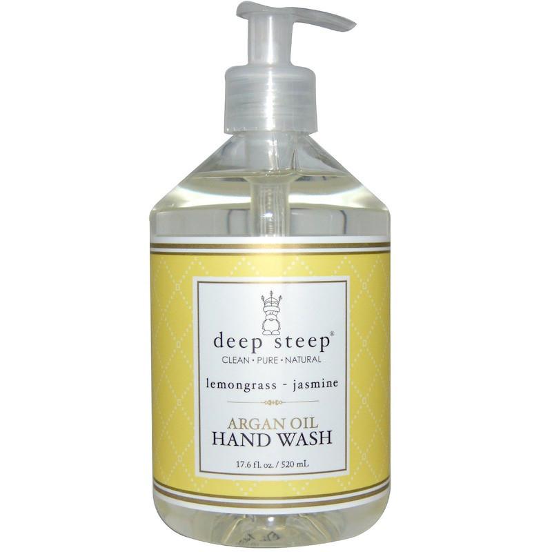 Мыло для рук, лимонник и жасмин, Deep Steep, 520 мл