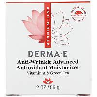 Крем от морщин с витамином А (Anti-Wrinkle Vitamin A Green Tea Advanced Cream), Derma E, (56 г)