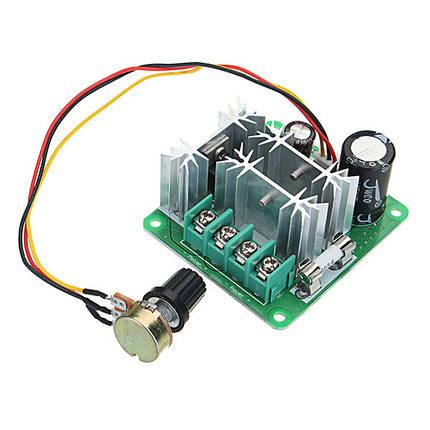 5шт DC 6-90V 15A 1000W Pulse PWM DC Мотор Регулятор скорости вращения регулятора скорости Регулятор скорости, фото 2