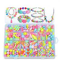Pop-Arty Beads Snap-Together Pop Beads для ювелирных изделий для детей Набор DIY Head Hoop Jigsaw Puzzle Toy Gift Gift