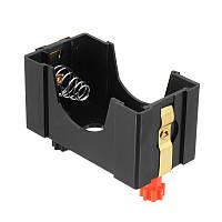 Одноместный слот D Размер Батарея Держатель Коробка Контейнер C Связывание Должности Физический электрический эксперимент
