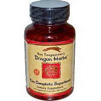 Dragon Herbs, Десять полноценных супертоников, 500 мг, 100 капсул