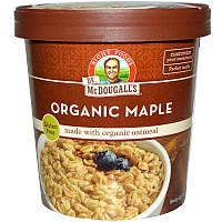 Dr. McDougall's, Органические овсяные хлопья с кленовым сиропом, 2,5 унции (70 г)