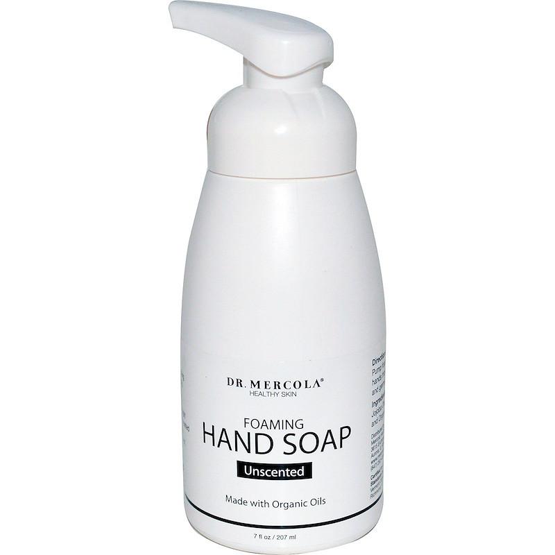Жидкое мыло для рук без запаха, Dr. Mercola, 207 мл