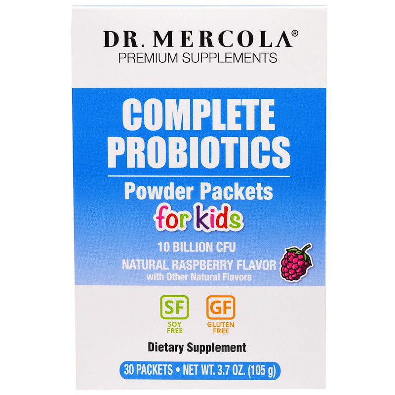 Пробиотики с фруктовым вкусом, Dr. Mercola, 30 пак.