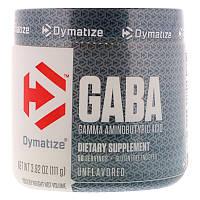 Dymatize Nutrition, ГАМК, гамма-аминобутировая кислота, без ароматизаторов, 3,92 унц. (111 г)