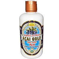 Органический сок асаи Gold, Dynamic Health, 946 мл