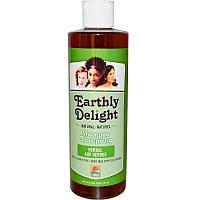 Earthly Delight Hair Care, Шампунь, травяной 16 жидких унции (454 мл)