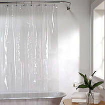 MildewResistantAnti-BacterialEco-FriendlyPEVA3G Liner Clear Shower Авто Занавес , фото 2