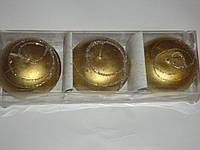 Свечи шар(3шт)