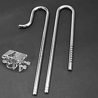 16 мм Аквариум Фильтр для рыбчатого фильтра Трубка Трубы для отвода из нержавеющей стали