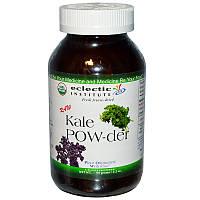 Капуста, Raw Kale POW-der, Blackberry Fruit, Eclectic Institute, 90 г