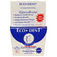 Зубная нить, с мятным вкусом, Eco-Dent, 36,57 м