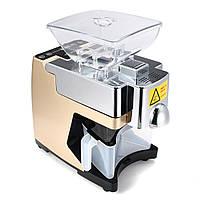 220V Mini Full-automatic Seed Масло Пресс-машина для домашнего использования Peanut Масло Прессовочный прессователь