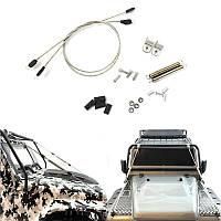Сцена Провод Веревка Авто Раковина с пружиной для Traxxas Trx-4 D110 Scx10 RC Авто Запчасти