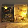 T-Yu TW14 Мемориальный день DIY Кукла Дом с крышкой Свет коллекция подарков Декор Игрушка