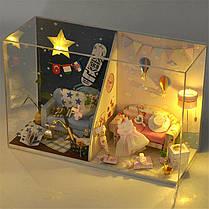 T-Yu TW14 Мемориальный день DIY Кукла Дом с крышкой Свет коллекция подарков Декор Игрушка, фото 3