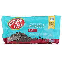 Enjoy Life Foods, Кусочки темного шоколада, обычный размер, 9 унций (255 г)
