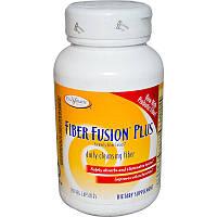 Очищение организма  Fiber Fusion Plus, Enzymatic Therapy, 120 капсул
