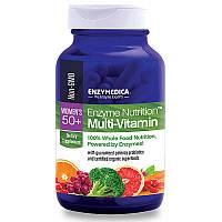 Ферменты и мульти-витамины для женщин 50+, Enzymedica, 120 кап.