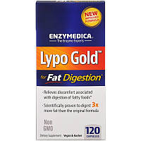 Оптимизатор переваривания жира, Enzymedica, 120 кап.