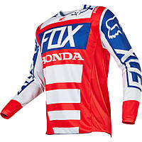 Джерси для мотокросса Fox Honda красно-белая, размер S